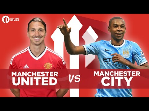 Manchester United vs Manchester City LIVE DERBY WATCHALONG STREAM!