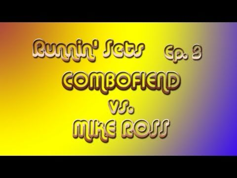 Runnin' Sets Ep. 3: COMBOFIEND vs. MIKE ROSS - SSF4 Pt. 1 - 동영상