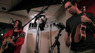 Tokyo Police Club - Wait Up (Boots of Danger) (Live on KEXP)