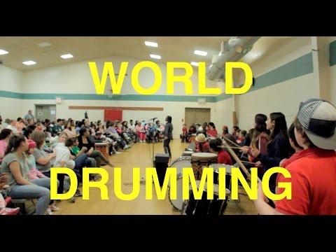 World Drummers Of Independence Charter School Philadelphia, PA