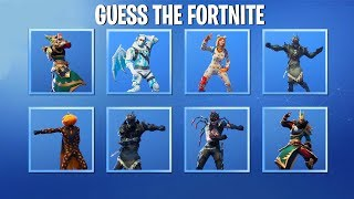 Guess The Fortnite Dance By The Remixed Music 🎶 🔥...! (with Leaked Emotes!)