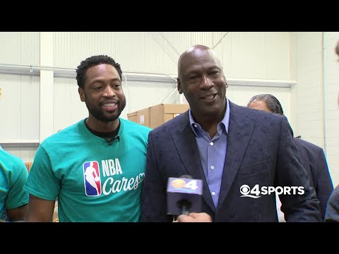 WEB EXTRA: Dwyane Wade Chats With His Childhood Idol Michael Jordan – Miami FL Alerts