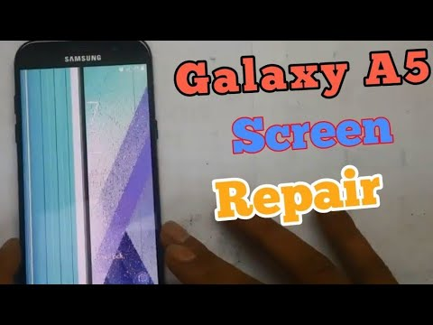 Samsung A520F LCD Screen Replacement