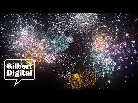 Fireworks in Gilbert, AZ