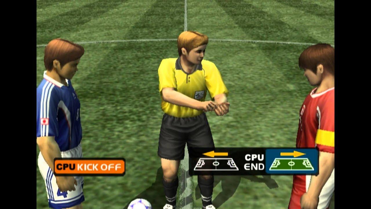jikkyou world soccer 2000 final edition gameplay hd 1080p ps2