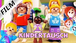 Playmobil Film Deutsch KINDERTAUSCH BEI FAMILIE VOGEL! JULIAN, EMMA, HANNAH NICHT MEHR IN FAMILIE!