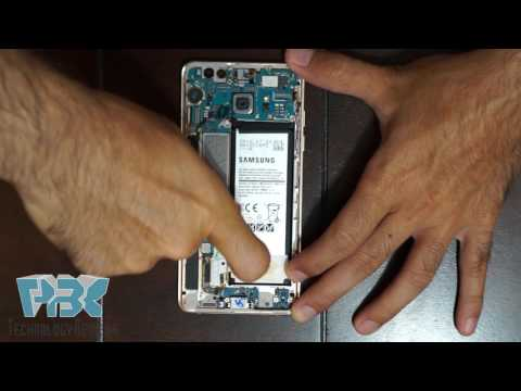 Original Samsung Galaxy Note 7 Exploding Battery Disassembly Teardown Repair