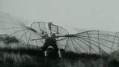 Die ersten Flugversuche