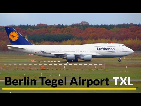 40 Minutes BUSY Planespotting at Berlin Tegel Airport: 747, 767, A330 & more! [Full HD]