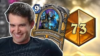 (Hearthstone) Uther Control Battles for Top 100 Legend