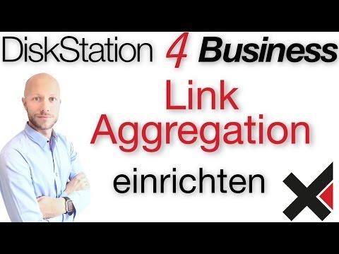DiskStation 4 Business Link Aggregation LAG, BOND einrichten
