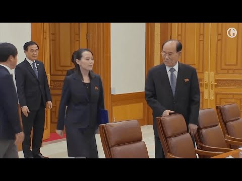 South Korean president meets Kim Yo-jong