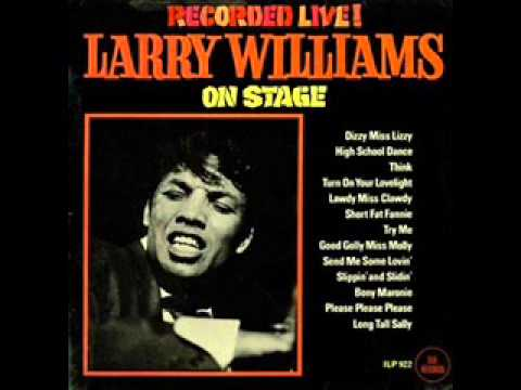 Larry Williams - Short Fat Fanny and Try Me (Live in 65`)