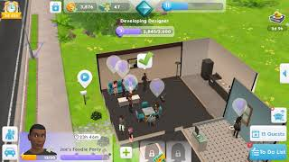 The Sims Mobile Gameplay 9 Foodie Party