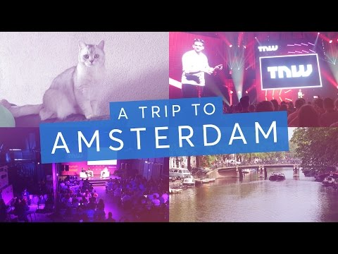 To Amsterdam for TNW tech conference - Travel vlog | CharliMarieTV