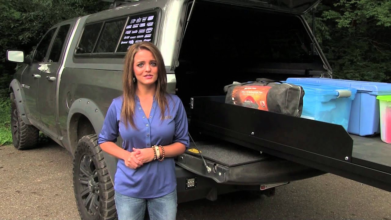 Cargoglide A R E Truck Caps And Tonneau Covers Youtube