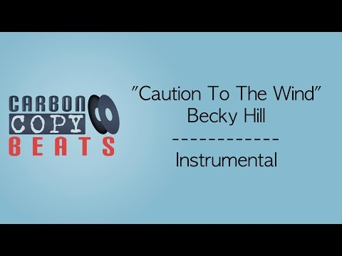 Caution To The Wind - Instrumental / Karaoke (In The Style Of Becky Hill)