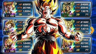 THE SUPER SAIYAN CATEGORY TEAM HAS BECOME ABSOLUTELY RIDICULOUS! (DBZ: Dokkan Battle)