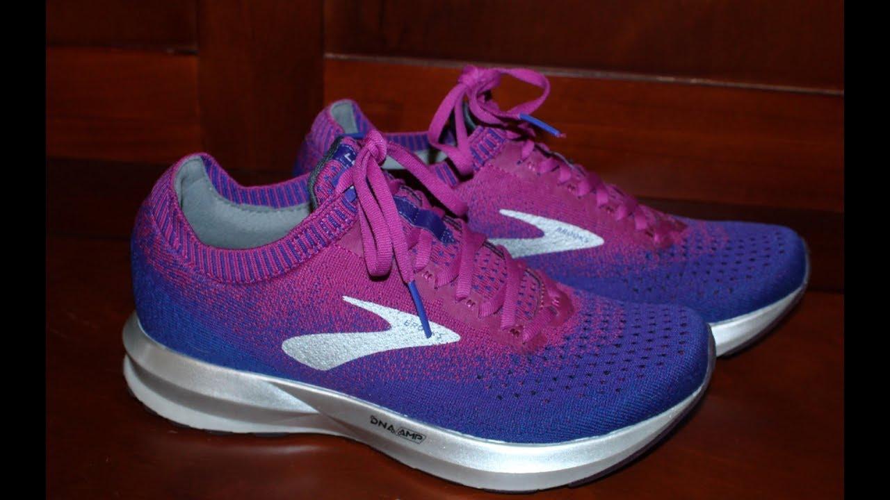 8db9c5ba508b2 Brooks Women s Levitate 2 Shoes Review - YouTube