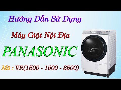 Hướng Dẫn Sử Dụng Máy Giăt Panasonic Nhật Nội Địa  VR1500l -VR1600L -VR3500L