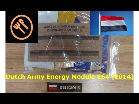 Dutch army energy module E64 (2014)