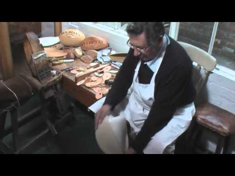 Rugby ball – traditional manufacture