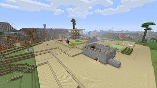 мой мир Minecraft PS4