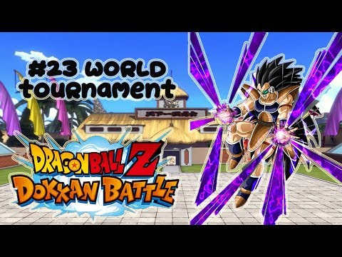 DOKKAN BATTLE! Raditz Full Power - #23 World Tournament - v.Jap