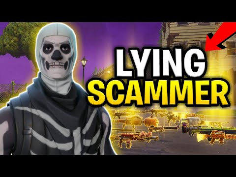 Lying Scammer Loses Loads of Ores and 130s! (Scammer Gets Scammed) Fortnite Save The World