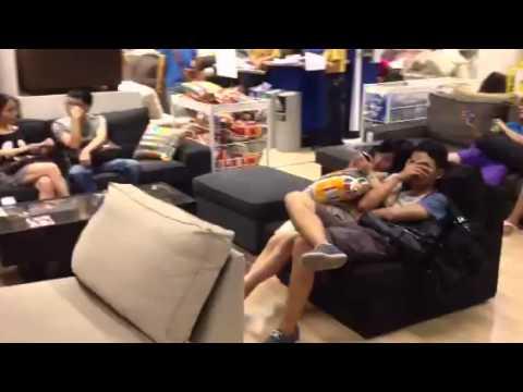 Nik and I visit Ikea Guangzhou China