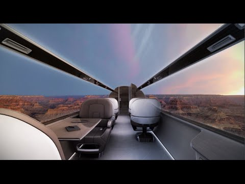 Ayo - Windowless Airliners? With a digital panoramic view of the sky??