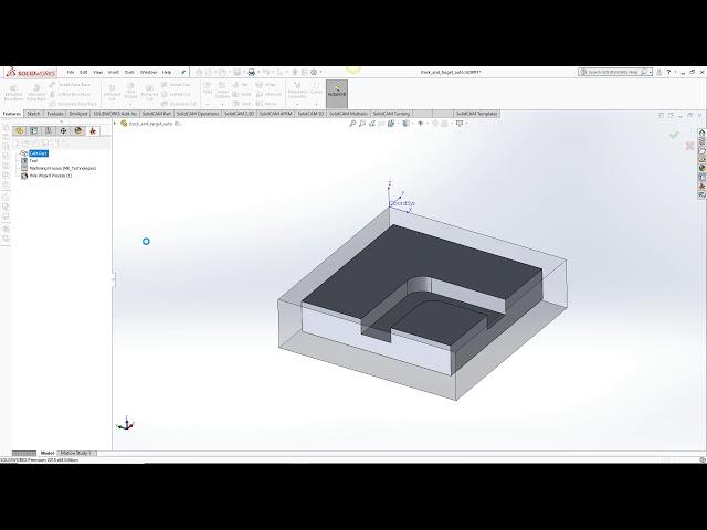 Автоопределение заготовки и границ детали