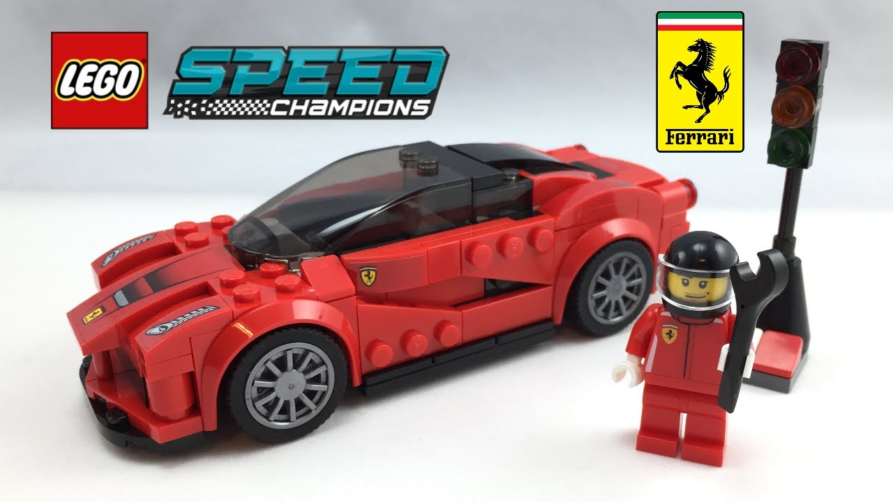 75899 la ferrari speed champions de lego. Black Bedroom Furniture Sets. Home Design Ideas