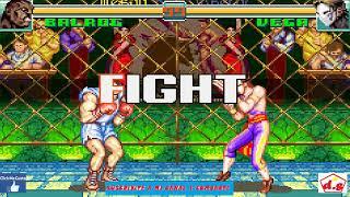 Super Street Fighter II Turbo Revival   Balrog   Game Boy Advance