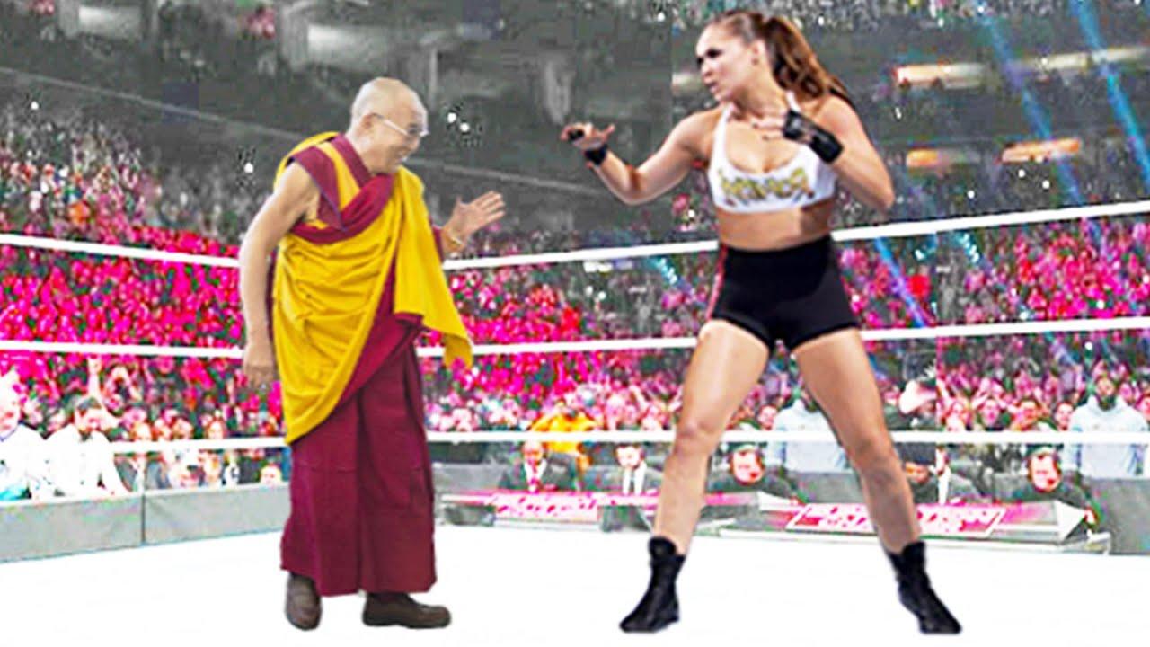 Ronda Rousey vs HH Dalai Lama - Iron Man Match