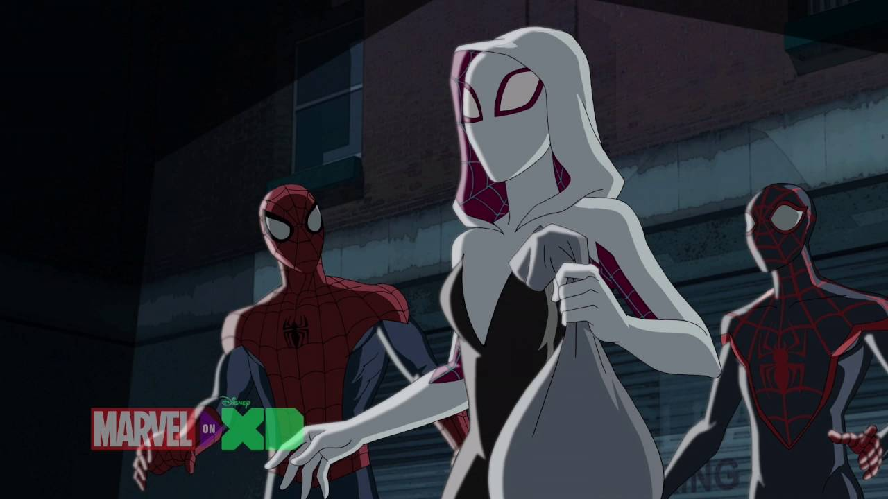 Image result for spider gwen ultimate spider man