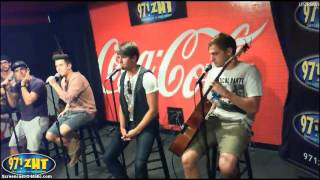 Big Time Rush live at Coca-Cola lounge