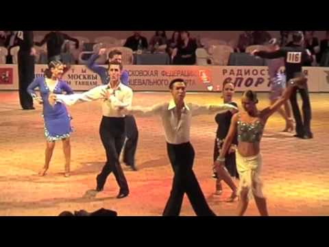Olesya Borisova & Dmitry Demidiv Open Moscow Ballroom Dance Championship 2001 Final