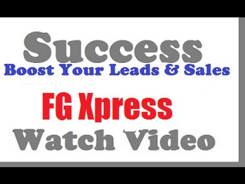 FG Xpress Marketing Tips Exposed (Use This To Succeed Faster)