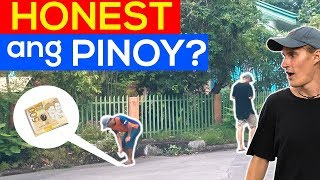 HONEST BA ANG PINOY SA FOREIGNER? 🇵🇭 Pinoy Social Experiment