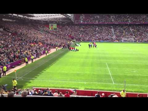 London Olympics 2012: Brazil Vs Belarus Olympics Mens Football  Old Trafford