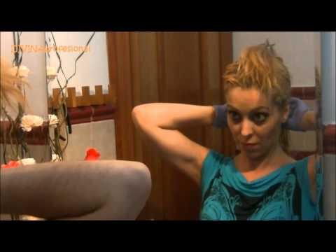 OTRA VEZ RUBIA.!!!! Como decolorar el pelo teñido y matizar.