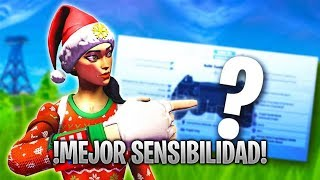 The SENSIBILITY THAT AIMBOT GIVES YOU on the fortnite console [MANDO] PS4 CHILE
