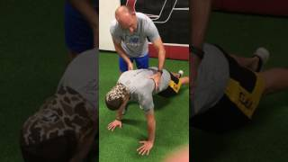 Arm Care Lesson 4: Get the shoulder blades moving on push-ups!
