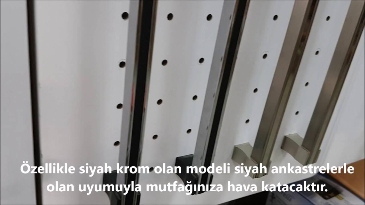 Yeni Kulp Modeli Doganlar Al333 Siyah Krom Mobilya Dolap Kulbu Www Hirdavatfirsati Com