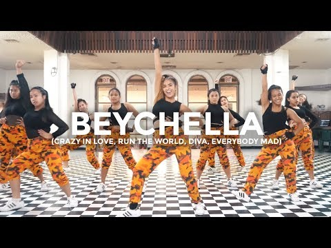 Beyoncé Remix - Crazy In Love, Run The World, Diva, Everybody Mad (Dance Video) thumbnail