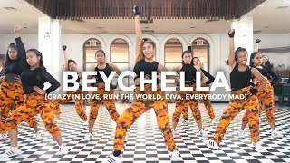 Beyonce Remix - Crazy In Love, Run The World, Diva, Everybody Mad (Dance Video)
