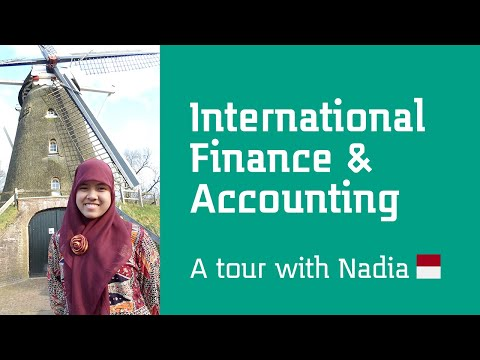 School of Finance & Accounting Tour with Nadia, from Indonesia