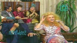 هالة فؤاد و نخبة من النجوم يغنون مع صباح