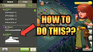 How to send pictures in clash of clans chat box | CLASH OF CLANS
